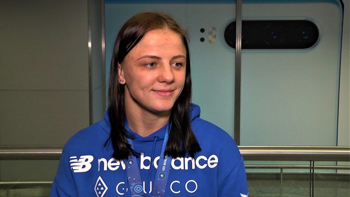 """Ірина Коляденко: """"Хотіла довести, що на дорослому чемпіонаті світу срібна медаль була не випадковою"""""""