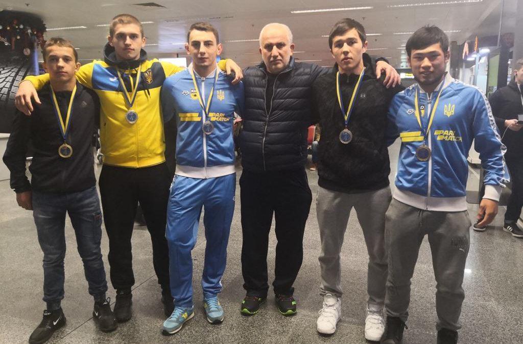 Кубок Хапаранди завершився для української збірної п'ятьма медалями!
