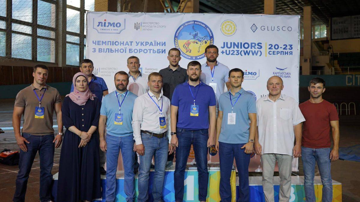 Урочисте відкриття ЧУ серед юніорів та серед жінок U23