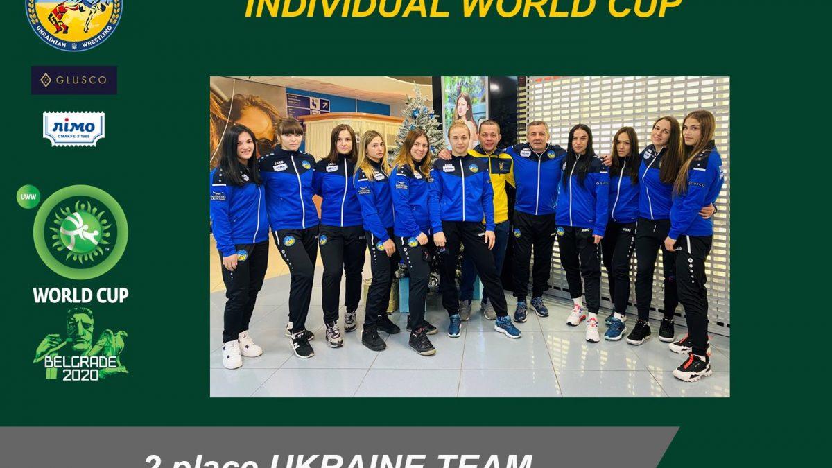 Індивідуальний Кубок Світу – Жіноча зібрна друга в командному заліку!