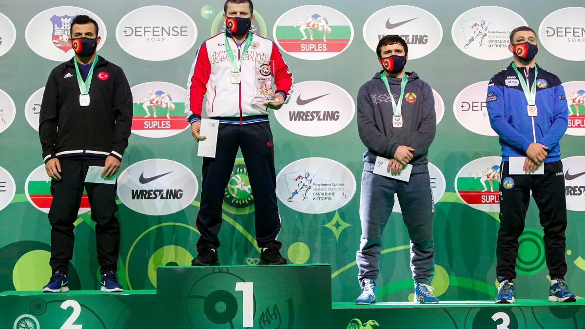 Василь Михайлов – бронзовий призер Індивідуального Кубку світу