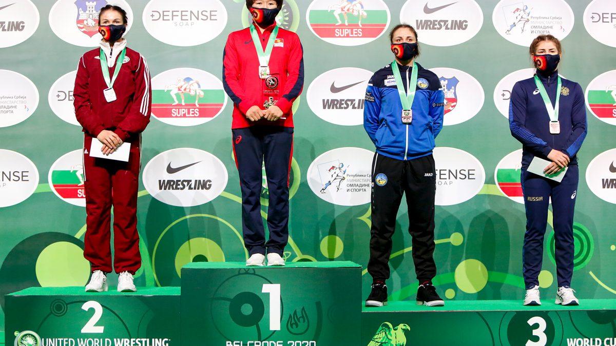 Ілона Прокопевнюк здобула бронзу Індивідуального Кубку світу