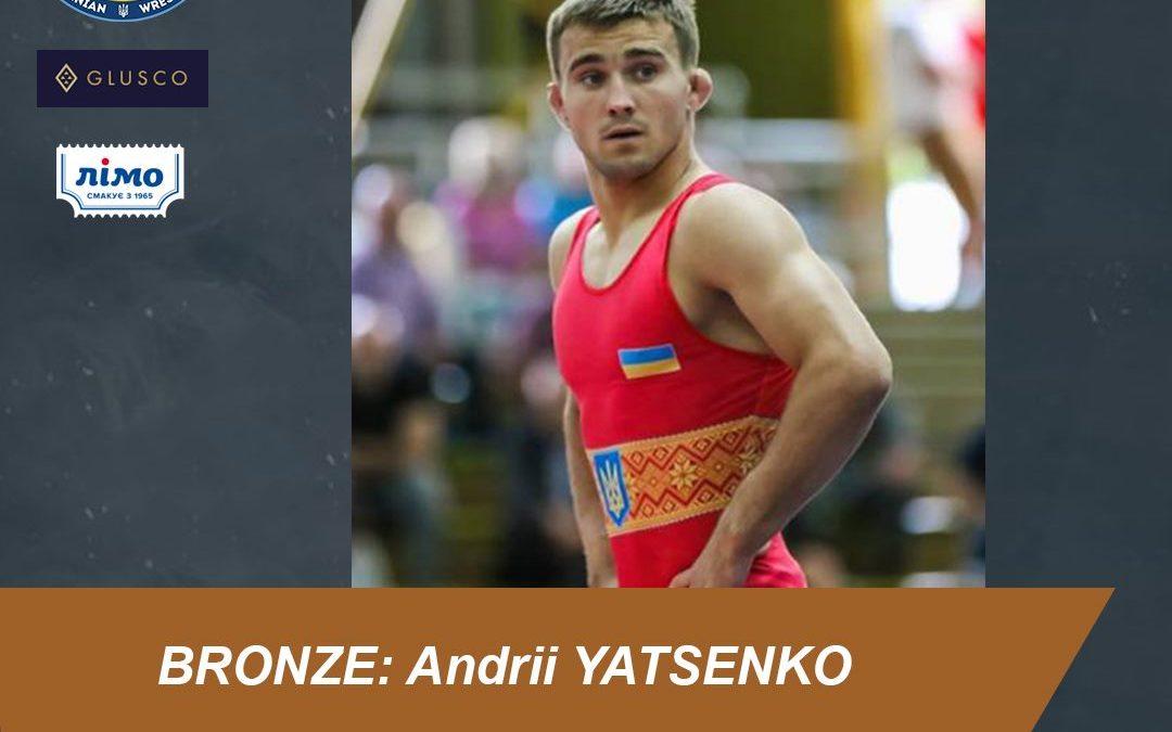 Андрій Яценко – бронзовий призер ліцензійного турніру