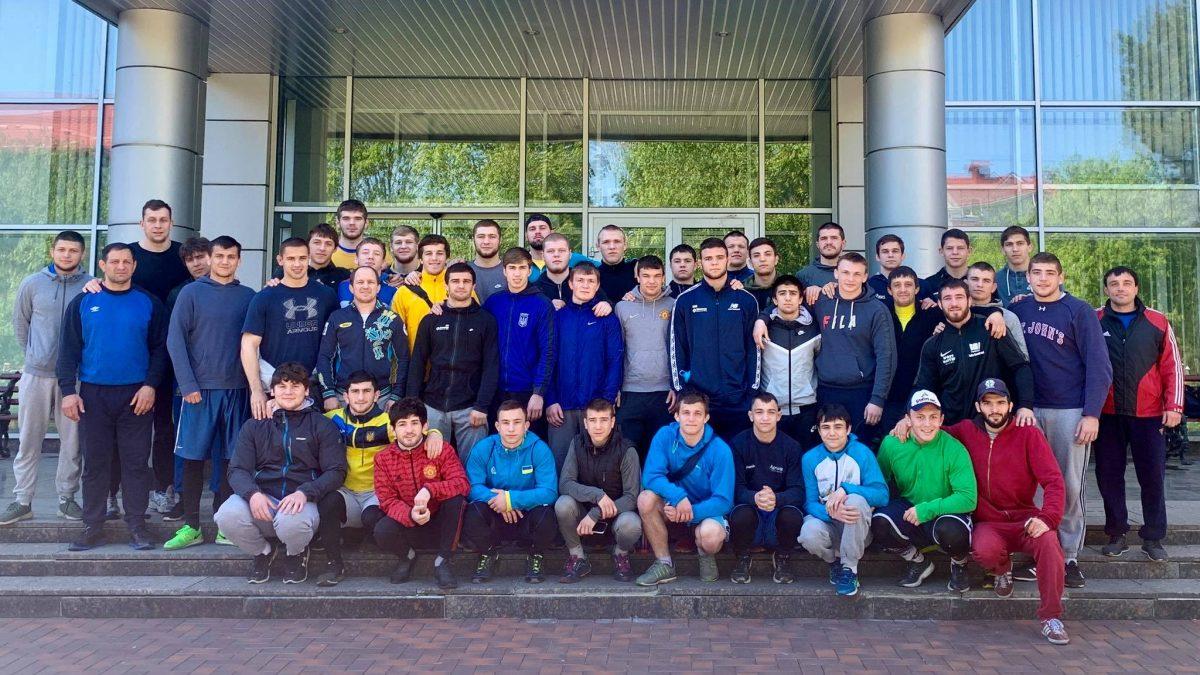 Склад команди з вільної боротьби на ЧЄ U23