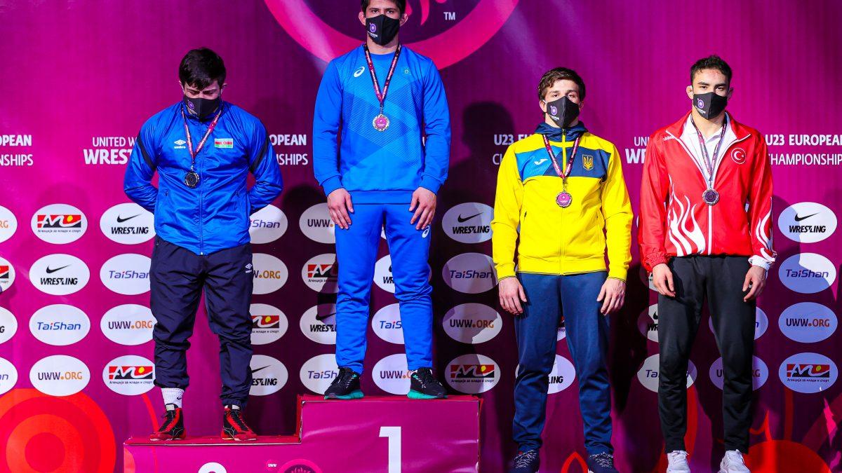 Денис Сагалюк – бронзовий призер ЧЄ U23