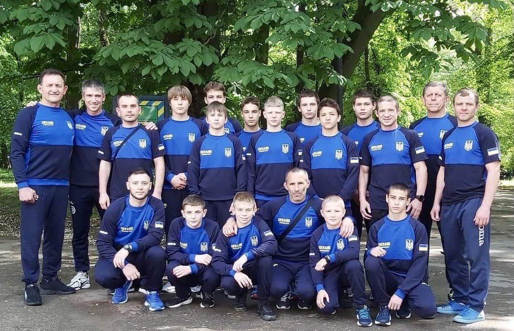 Склад команди на ЧЄ U 15