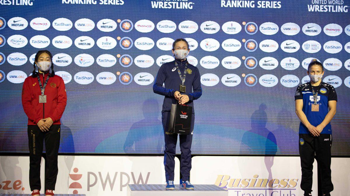 Ірина Харів – бронзова призерка Open Poland. ВІДЕО