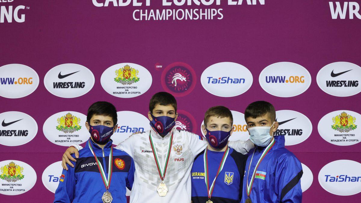 ЧЄ серед кадетів: Олександр Григоришин – бронзовий призер. ФОТО