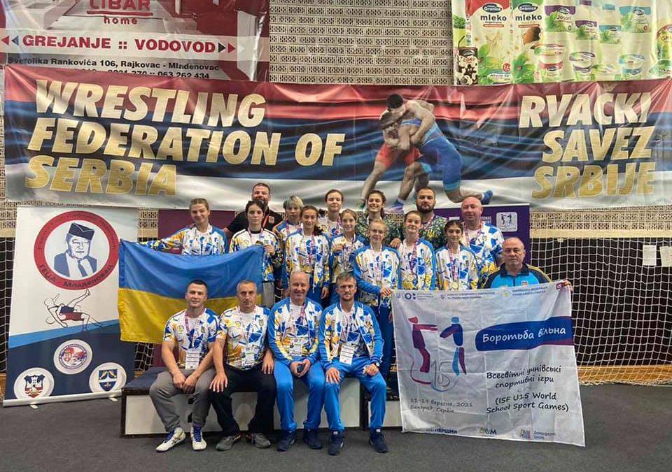 Україна перша на Всесвітніх шкільних Іграх! Десять золотих медалей з десяти!